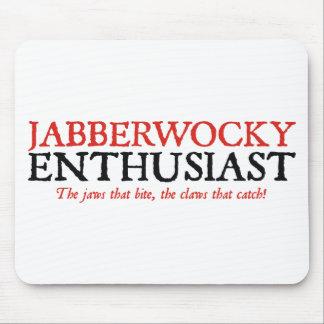 Jabberwocky Enthusiast Mouse Pad
