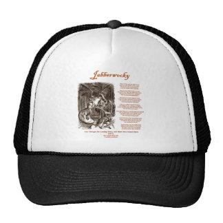 Jabberwocky Poem by Lewis Carroll (Black Adder) Trucker Hat
