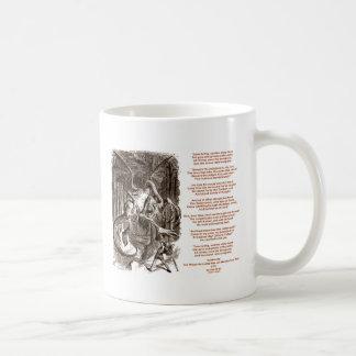 Jabberwocky Poem by Lewis Carroll Coffee Mug