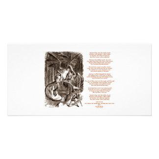 Jabberwocky Poem by Lewis Carroll Photo Greeting Card