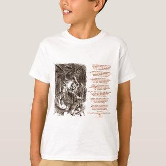 Jabberwocky Poem by Lewis Carroll T-Shirt