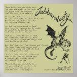 Jabberwocky Poem Poster