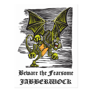 Jabberwocky Post Card