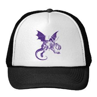 Jabberwocky Purple Trucker Hat