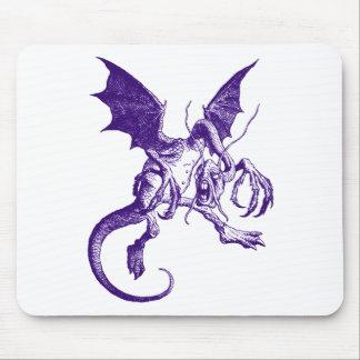 Jabberwocky Purple Mouse Pad