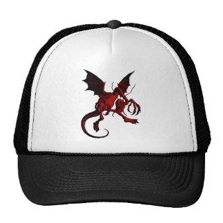 Jabberwocky Red Fill Trucker Hat