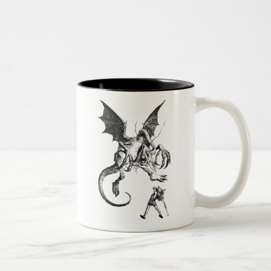 Jabberwocky Two-Tone Coffee Mug