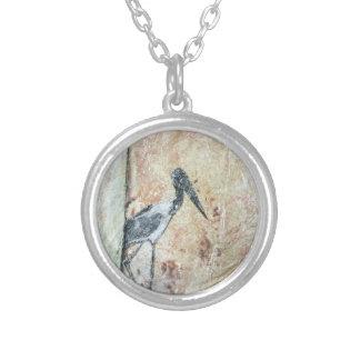 Jabiru necklace