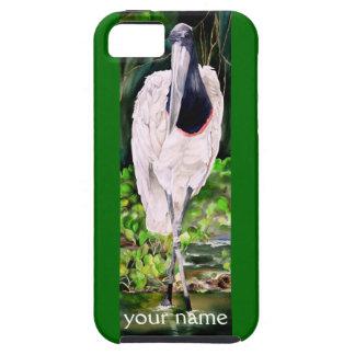 Jabiru Stork Fine Art Painting iPhone 5 Case