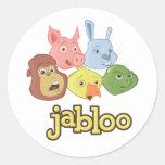 Jabloo Circle Sticker