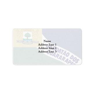 Jaboataodosguararapes Pernambuco Brasil, Brazil Personalized Address Label