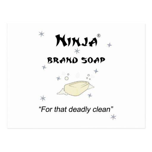 Jabón de la marca de Ninja - para eso muerto Postal