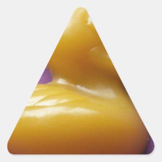jabón ducky pegatina triangular