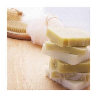 Jabón hecho a mano 2 lona estirada galerias