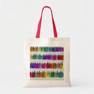 Jabone el arco iris de la botella - para los cuart bolsa tela barata
