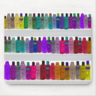 Jabone el arco iris de la botella - para los cuart alfombrillas de ratón