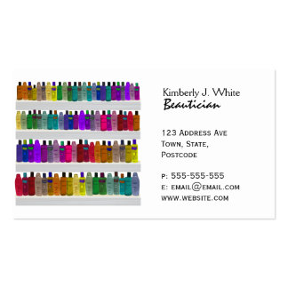 Jabone el arco iris de la botella - para los cuart tarjetas personales