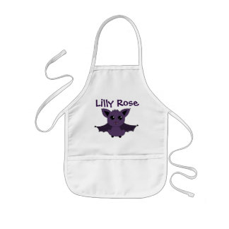 Jac the Bat; A Good day to fly into the kitchen Kids' Apron