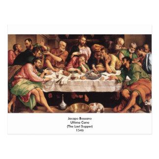 Jacapo Bossano - Ultima Cena (Last Supper), 1546 Postcards