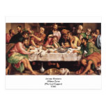 Jacapo Bossano - Ultima Cena (última cena), 1546 Postales