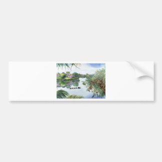 Jacaranda Lake Bumper Sticker