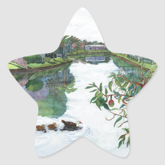 Jacaranda Lake Star Sticker