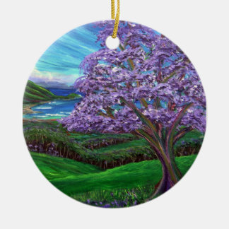 Jacaranda Upcountry Ornament