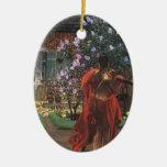 Jacek Malczewski- Thanatos Christmas Ornament