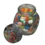 Jacek Malczewski- Thanatos Glass Candy Jars