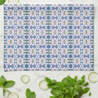 Jacinto azul toalla de cocina