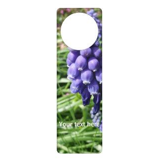 Jacinto de uva colgantes para puertas