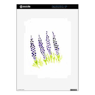 Jacinto de uva del Watercolour Calcomanía Para El iPad 2