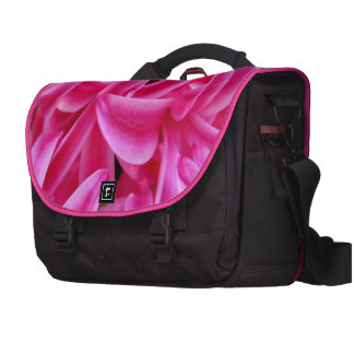 Jacinto rosado bolsa de ordenador