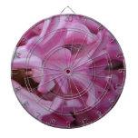 Jacinto rosado tablero de dardos