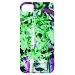 Jacinto verde de neón iPhone 5 Case-Mate fundas