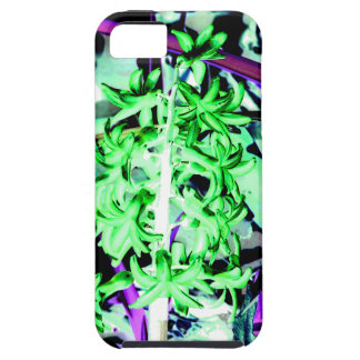 Jacinto verde de neón iPhone 5 funda