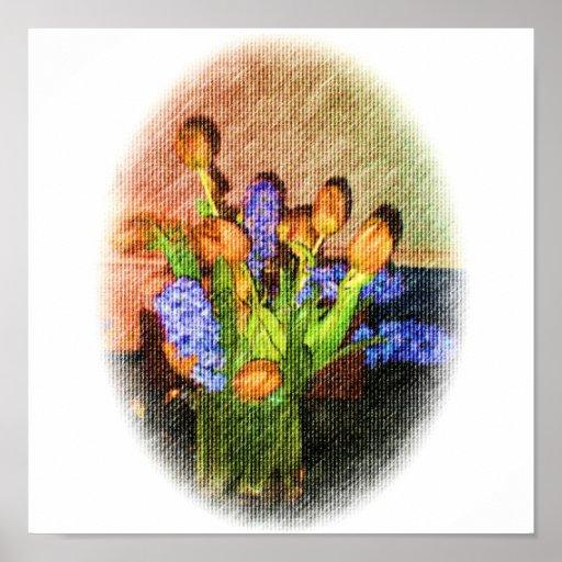 ¿jacintos de los tulipanes y?????? impresiones