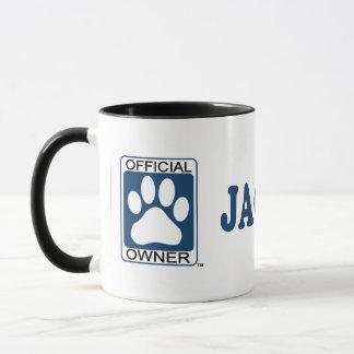 Jack-A-Bee Blue Mug