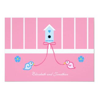Jack and Jill Couple Wedding Shower Invitation Card