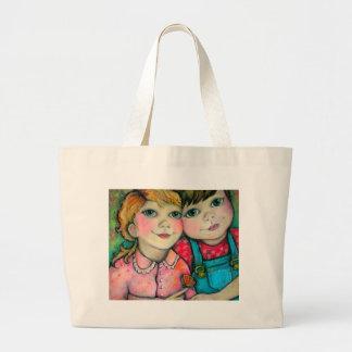 Jack and Jill Nursery Rhyme Time Fun Tote Bag