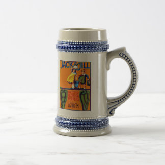 Jack and Jill Peppers Beer Stein