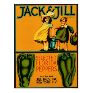 Jack and Jill Post Cards