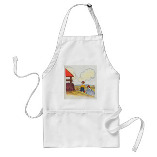 Jack and Jill went up the hill Adult Apron