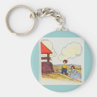 Jack and Jill went up the hill Keychain
