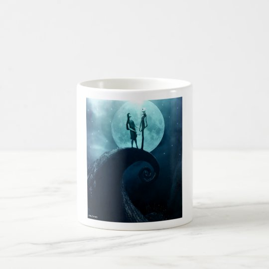 Jack and sally coffee mug