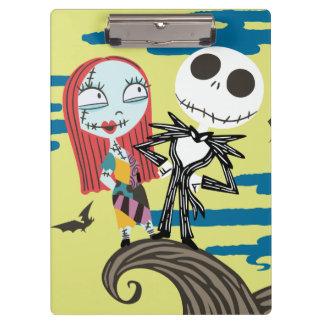 Jack and Sally | Cute Moon Clipboard
