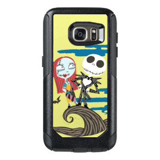Jack and Sally | Cute Moon OtterBox Samsung Galaxy S7 Case