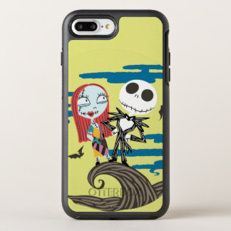 Jack and Sally | Cute Moon OtterBox Symmetry iPhone 8 Plus/7 Plus Case