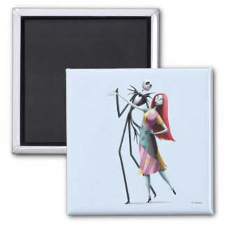 Jack and Sally Dancing Magnet