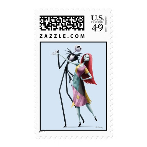 Jack and Sally Dancing Postage